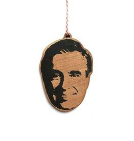 Mr Rogers Wooden Ornament