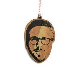 Ryan Gosling Wooden Ornament