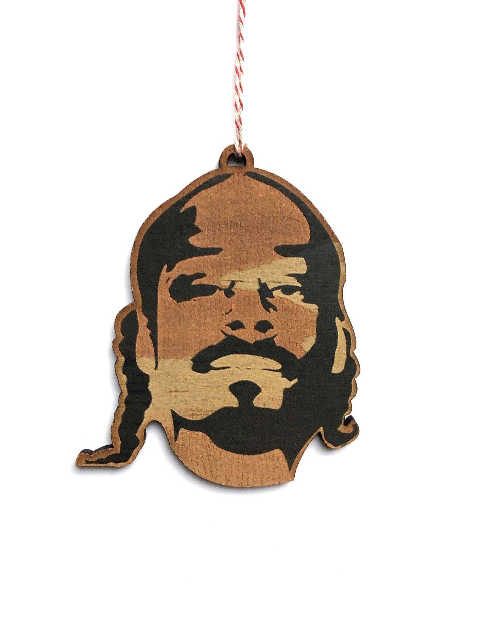 Snoop Wooden Ornament