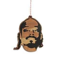 Letter Craft Snoop Wooden Ornament