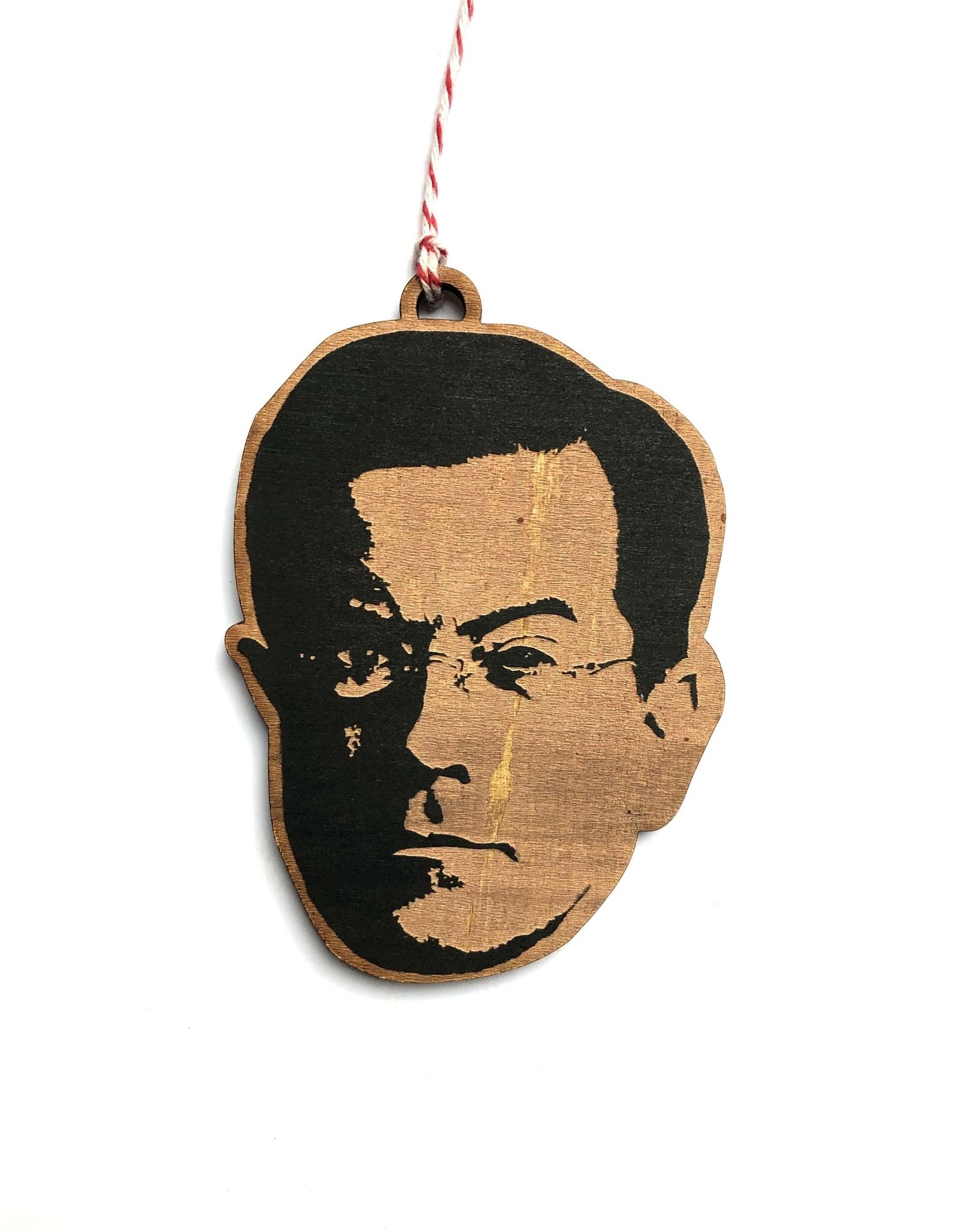 Stephen Colbert Wooden Ornament