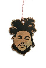The Weeknd Wooden Ornament