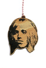 Letter Craft Tom Petty Wooden Ornament