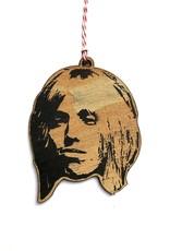 Tom Petty Wooden Ornament