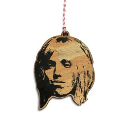 Tom Petty Wooden Ornament