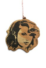 Taylor Swift Wooden Ornament