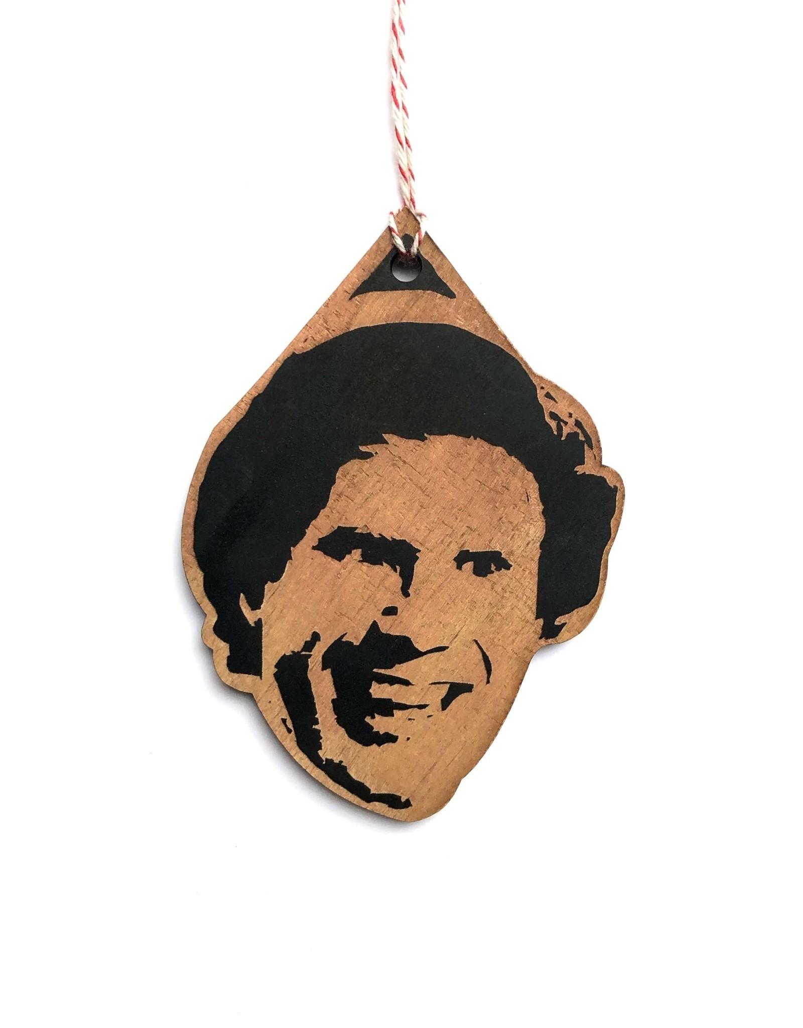 Will Ferrell Elf Wooden Ornament