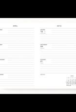 Paperblanks 2020 Mini Planner - Persimmon