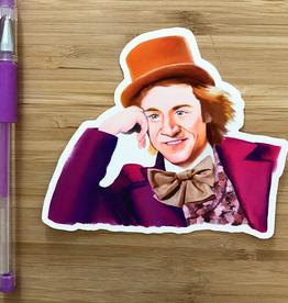 YeaOh Greetings Willy Wonka Sticker