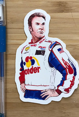 YeaOh Greetings Ricky Bobby (Talladega Nights) Sticker