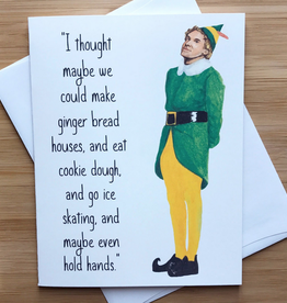 YeaOh Greetings Christmas Activities (Buddy the Elf) Greeting Card