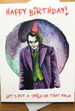 The Joker Birthday Greeting Card