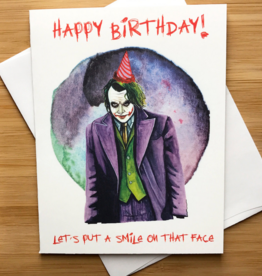 The Joker Birthday Greeting Card