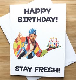 Fresh Prince of Bel Air Birthday Greeting Card