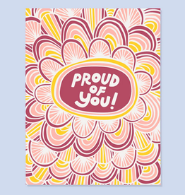 Proud of You! Greeting Card