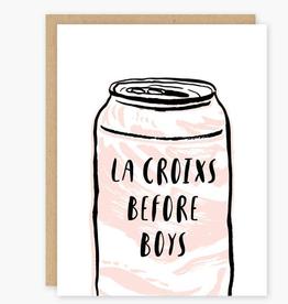 La Croixs Before Boys Greeting Card