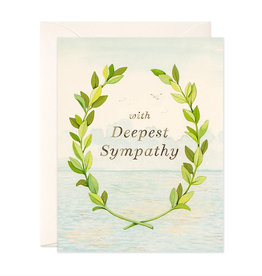 JooJoo Paper With Deepest Sympathy Greeting Card