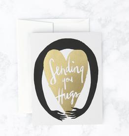 Sending You Hugs Greeting Card