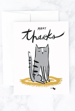 Idlewild Co Many Thanks Cat & Mouse Greeting Card