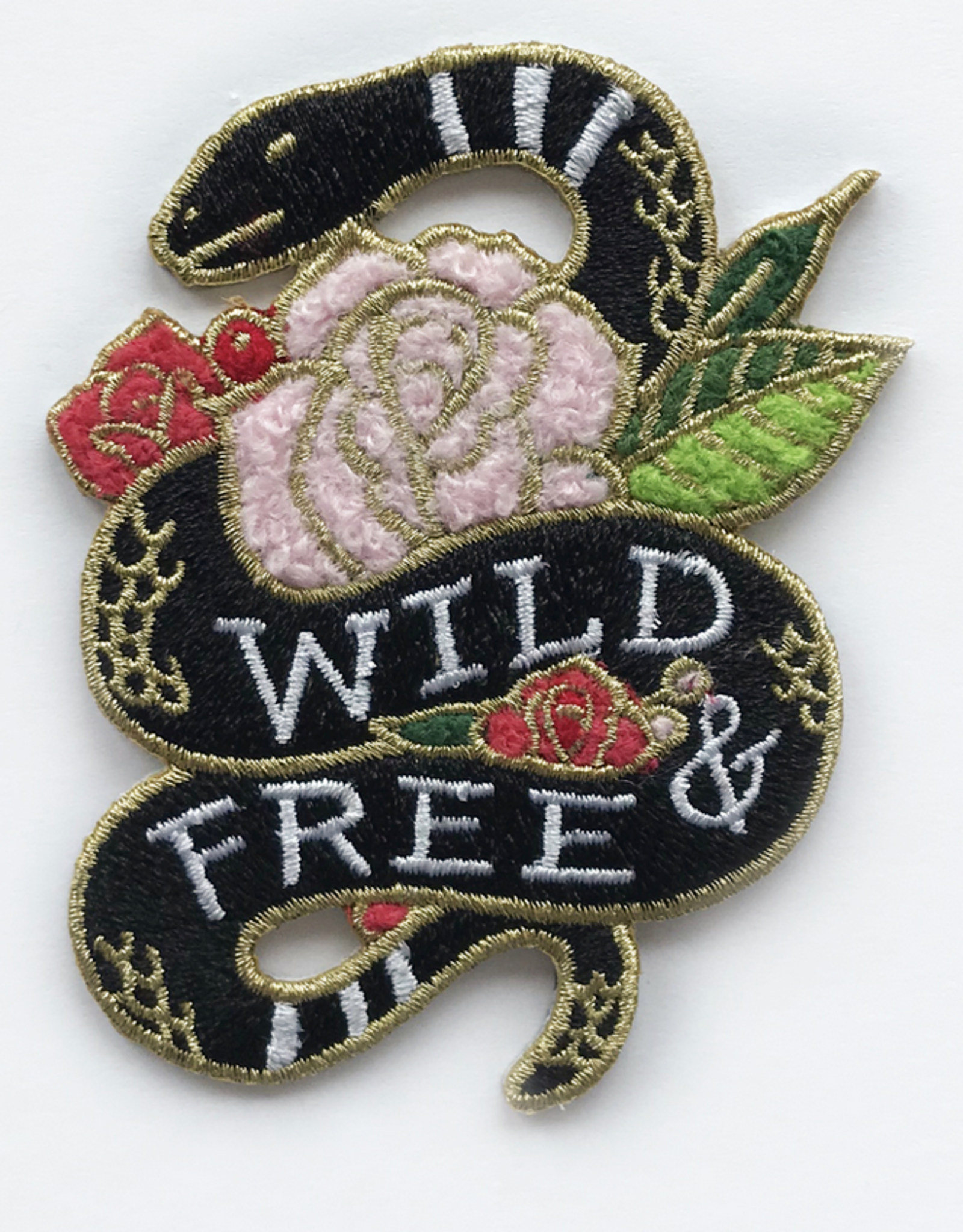 Wild & Free Snake Patch