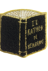 Rather Be Reading Patch
