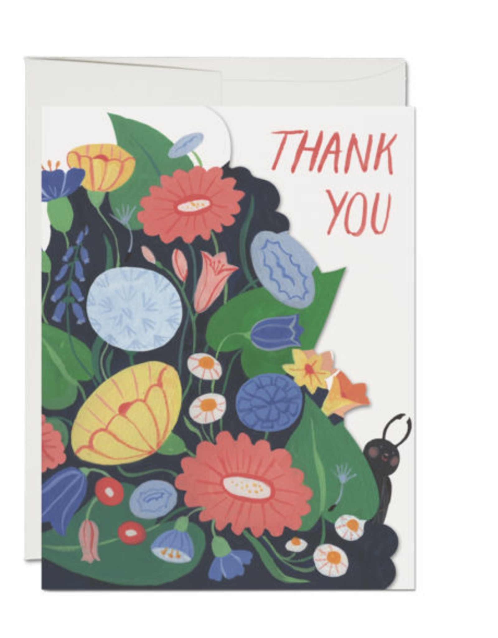 Thank You Bugs Greeting Card