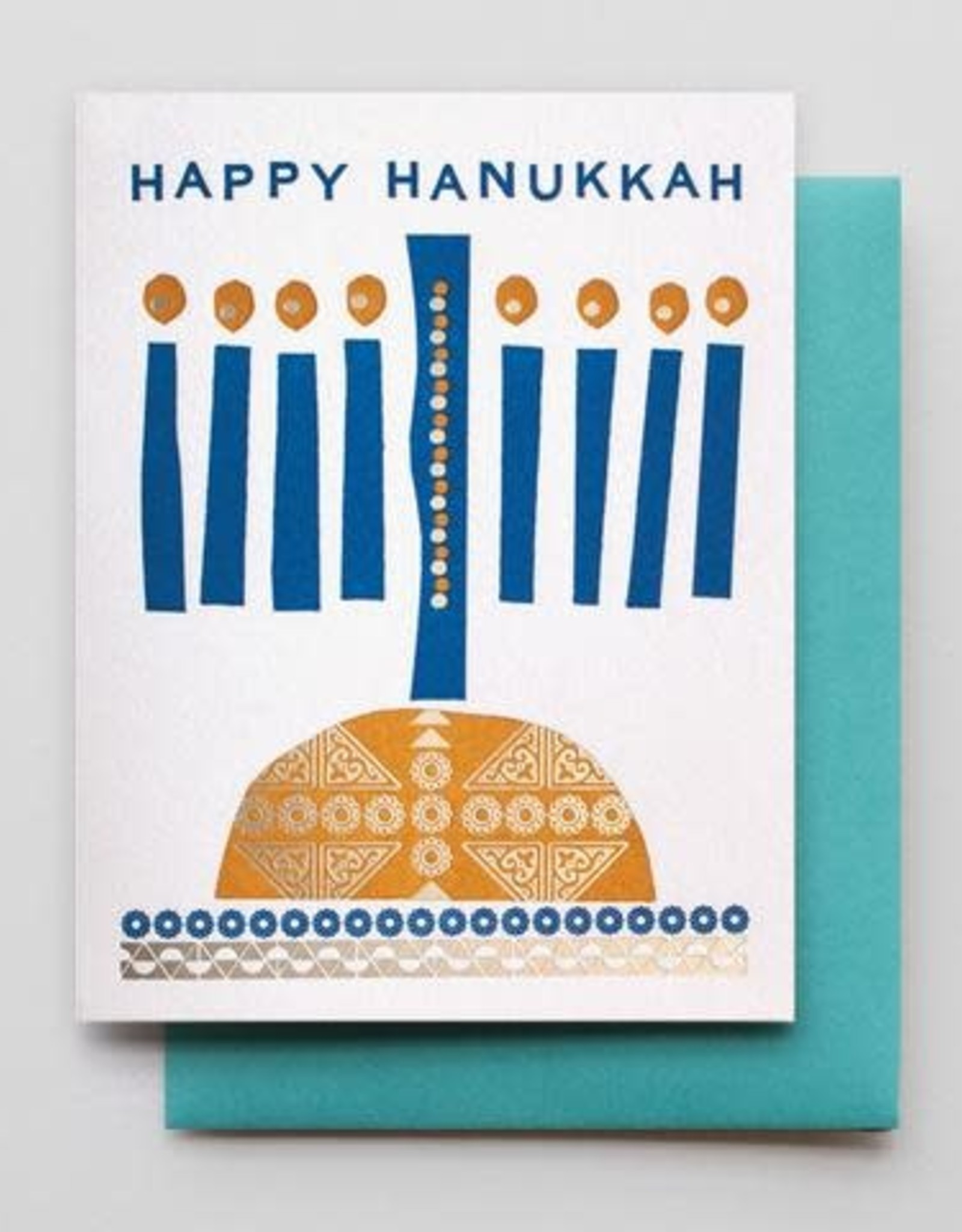 Hanukkah Candles Greeting Card