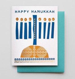 Hanukkah Candles Greeting Card