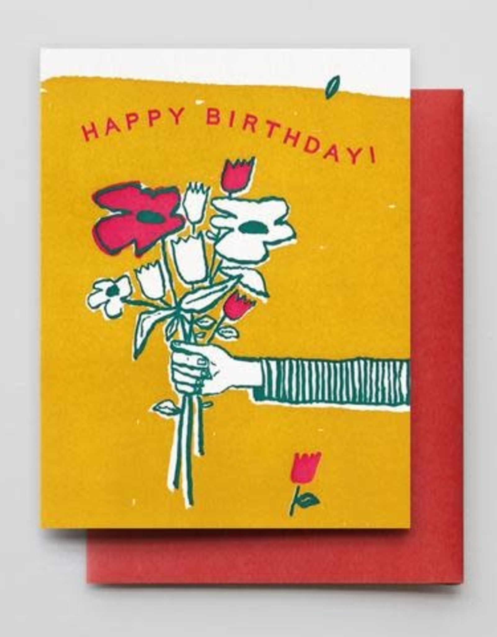 Flowers for You Birthday Greeting Card