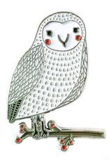 Merriment Owl Enamel Pin
