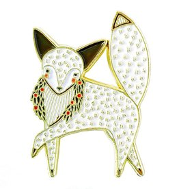 Merriment Fox Enamel Pin