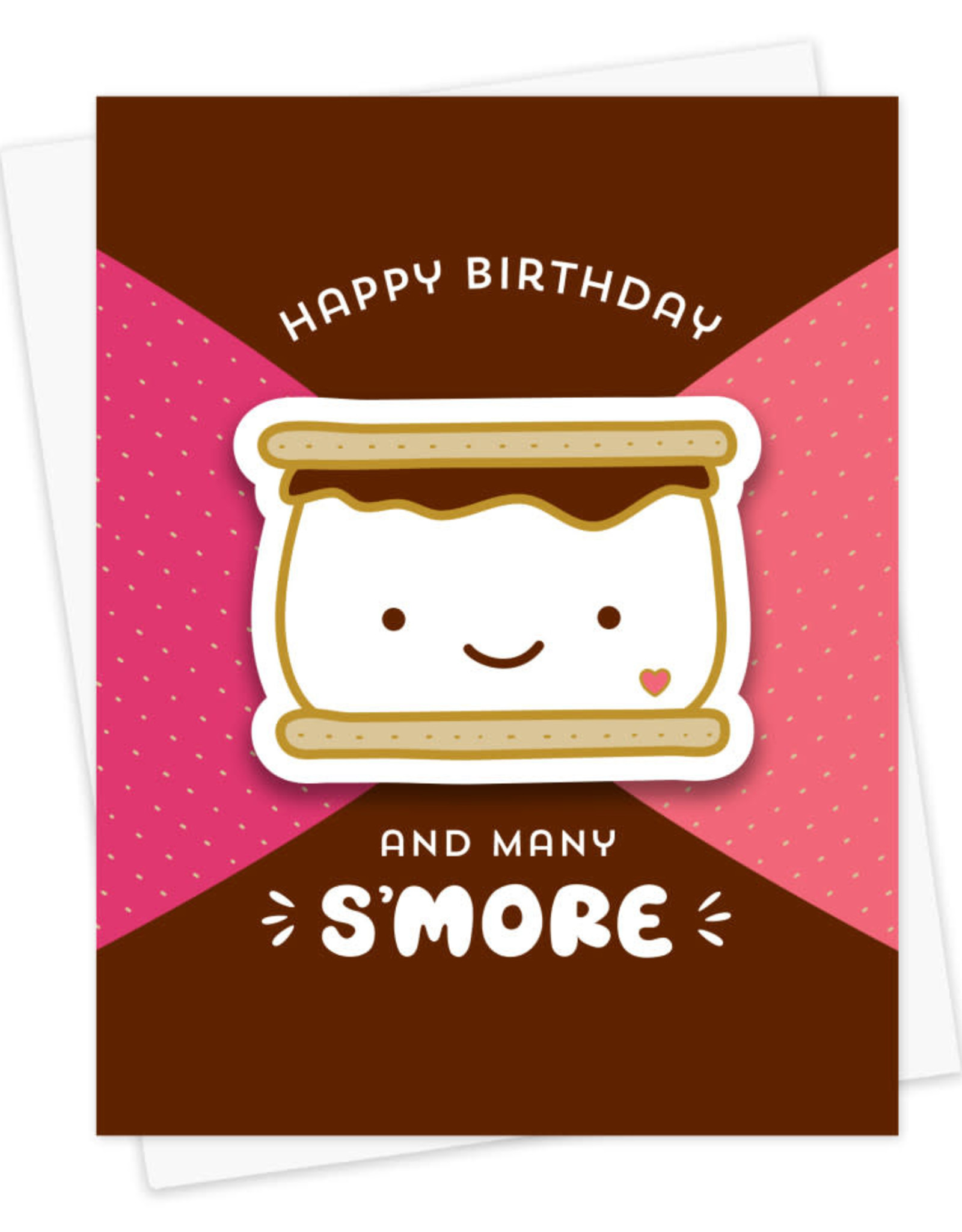 And Many S'More Birthday Sticker Card