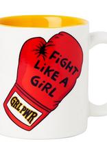 Fight Like a Girl Ceramic Mug