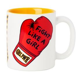 The Found Fight Like a Girl Ceramic Mug