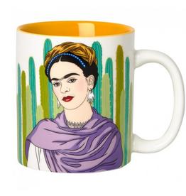Frida with Cacti Ceramic Mug