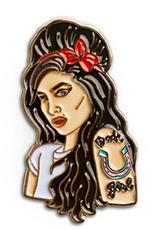 Amy Winehouse Enamel Pin