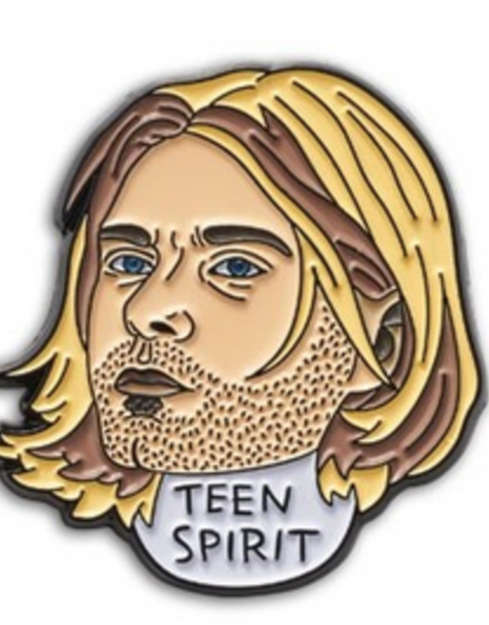 Kurt Cobain Enamel Pin