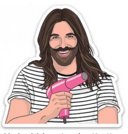 The Found JVN Jonathan Van Ness Sticker