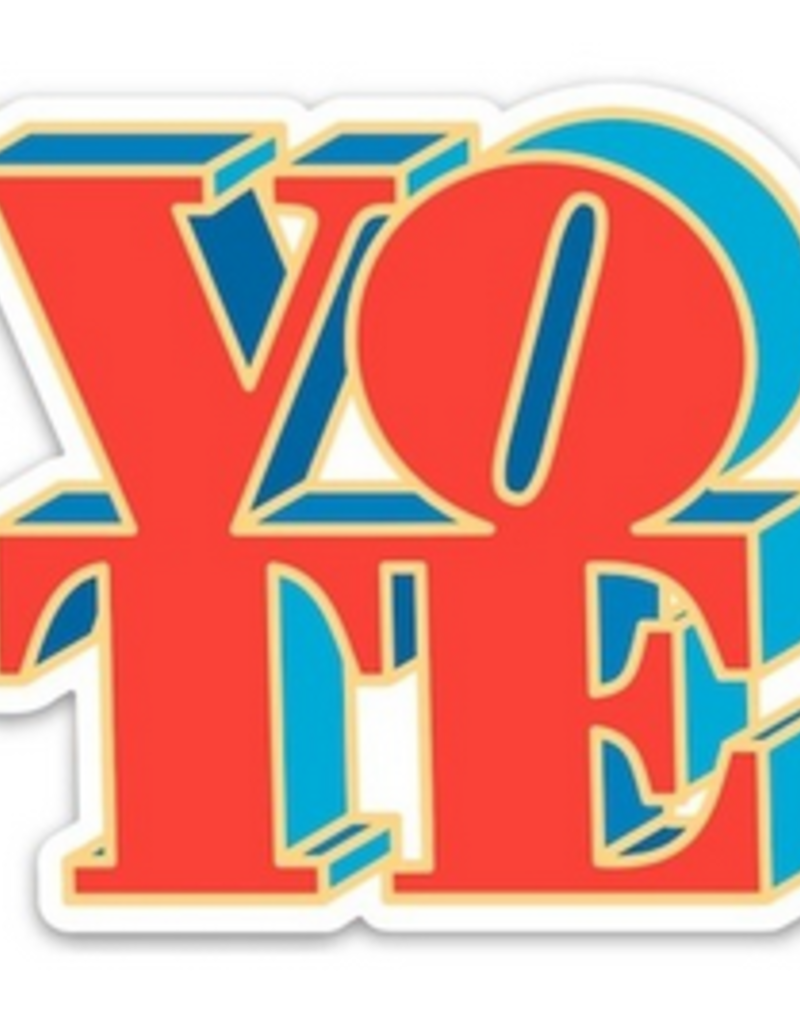 The Found Vote Sticker