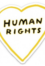 Human Rights Heart Sticker
