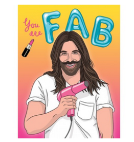 JVN You are Fab Birthday Greeting Card