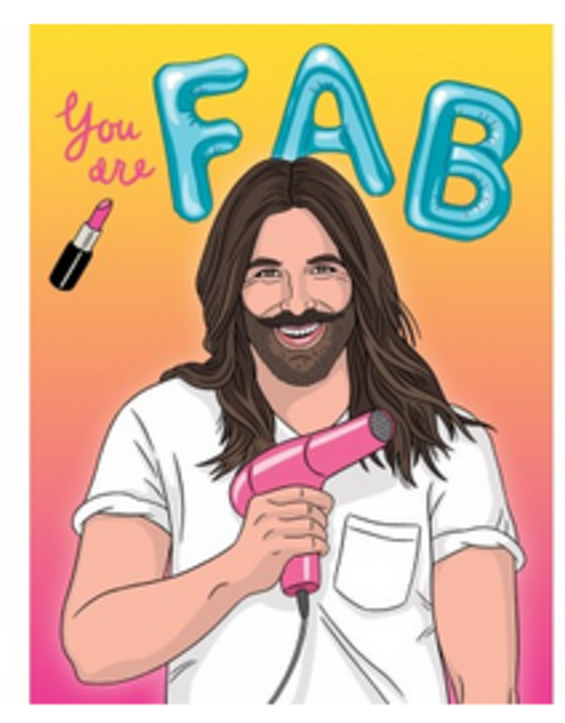 The Found JVN You are Fab Birthday Greeting Card