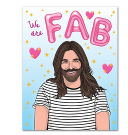 We are Fab JVN Greeting Card