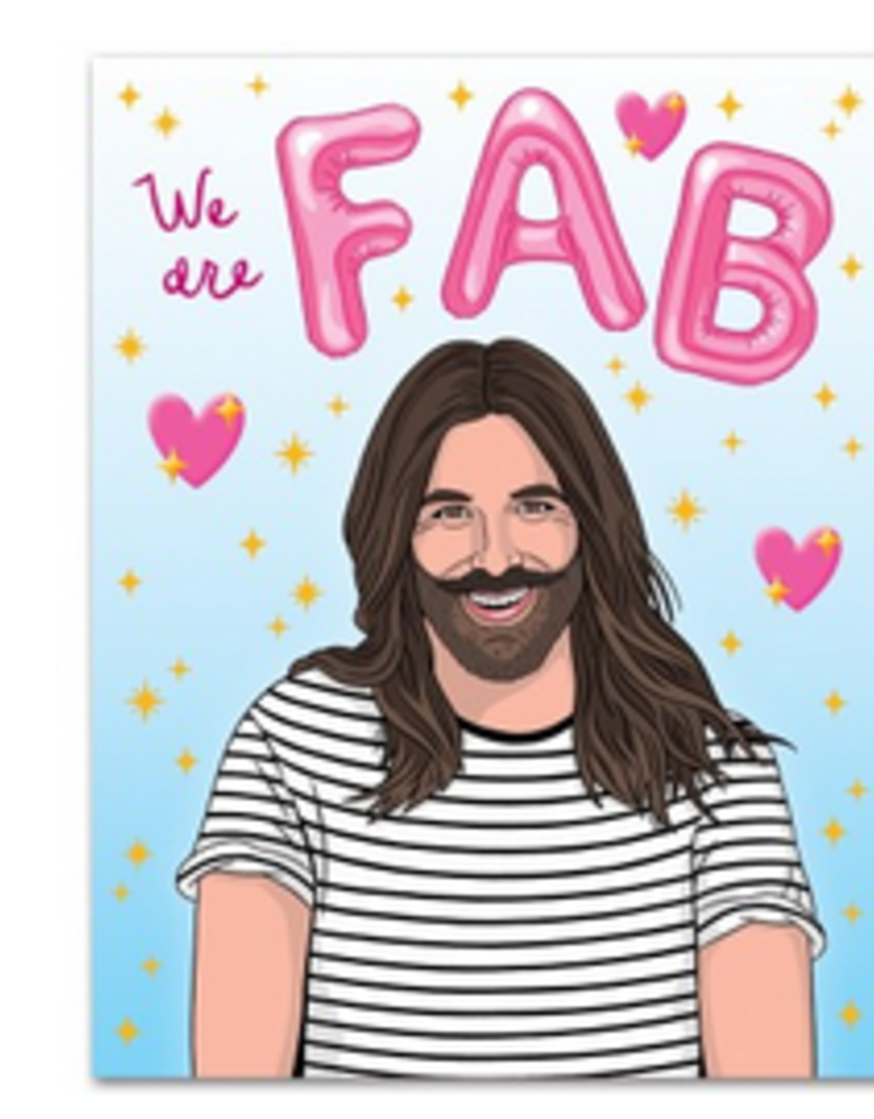 The Found We are Fab JVN Greeting Card