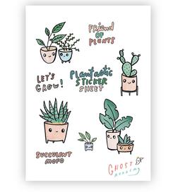 Plantastic Sticker Sheet