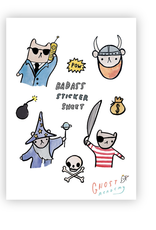 Badass Sticker Sheet