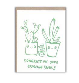 Ghost Academy Congrats On Your Growing Family Greeting Card