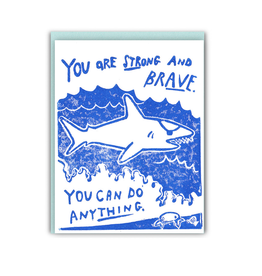 Ghost Academy You Are Strong and Brave Greeting Card