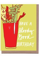 Scratch n Sniff Bloody Mary Birthday Greeting Card