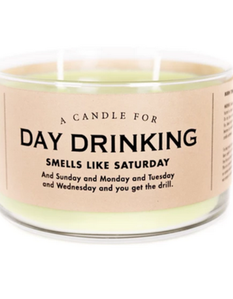 Whiskey River Soap A Candle for Day Drinking (Mojito Scented)